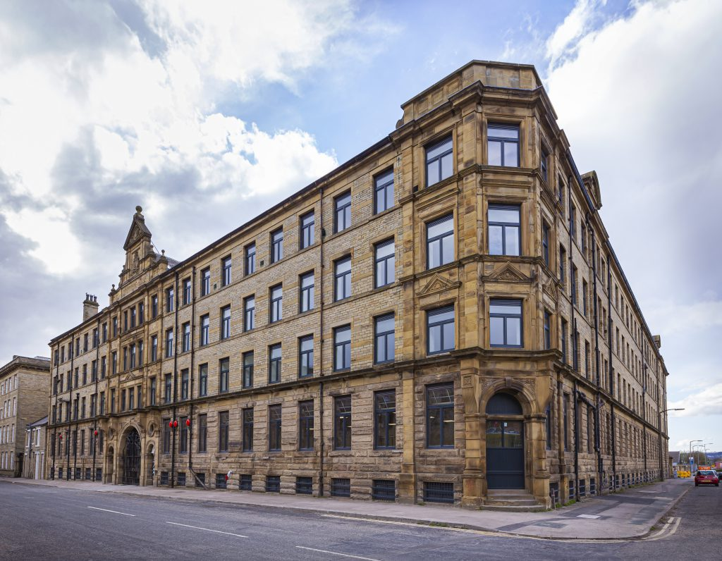 Bradford's grade 2 listed conditioning house building