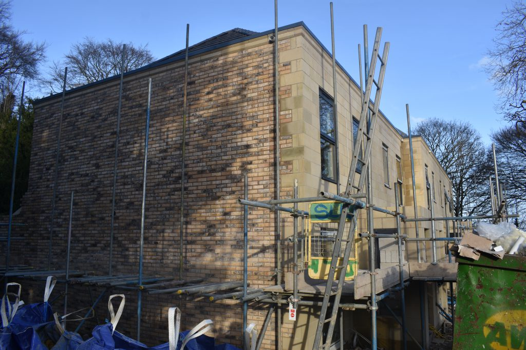 NEw build townhouses at Cliff oaks Leeds