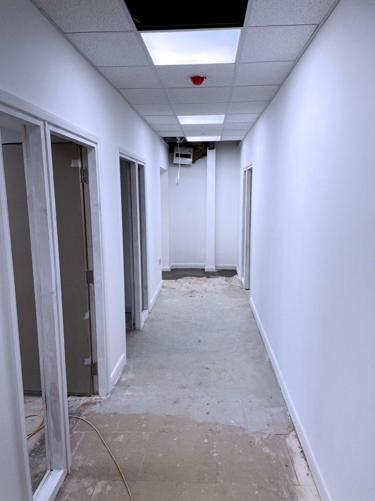 Castleford refurbishment progress1 project