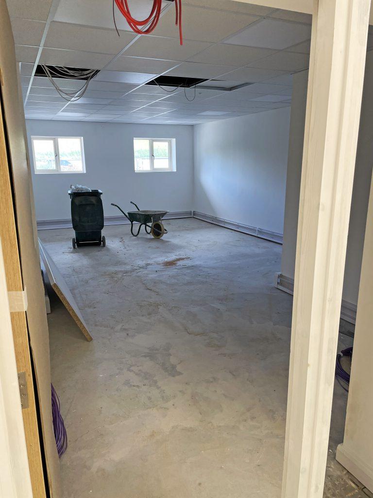 Castleford refurbishment progress2project