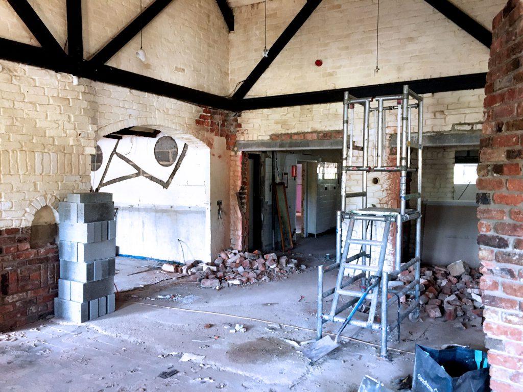 Castleford refurbishment progress4 project