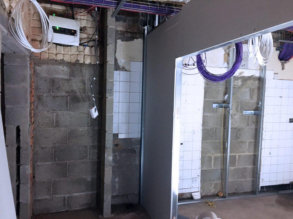 Castleford refurbishment progress5 project