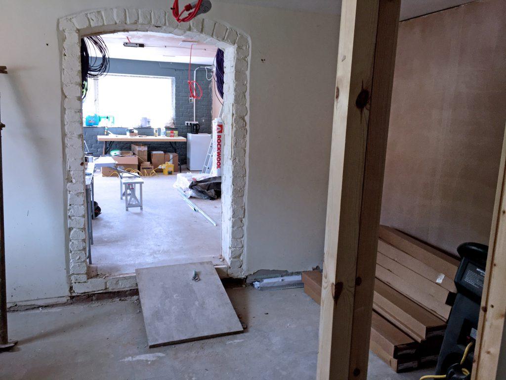 Castleford refurbishment progress7 project