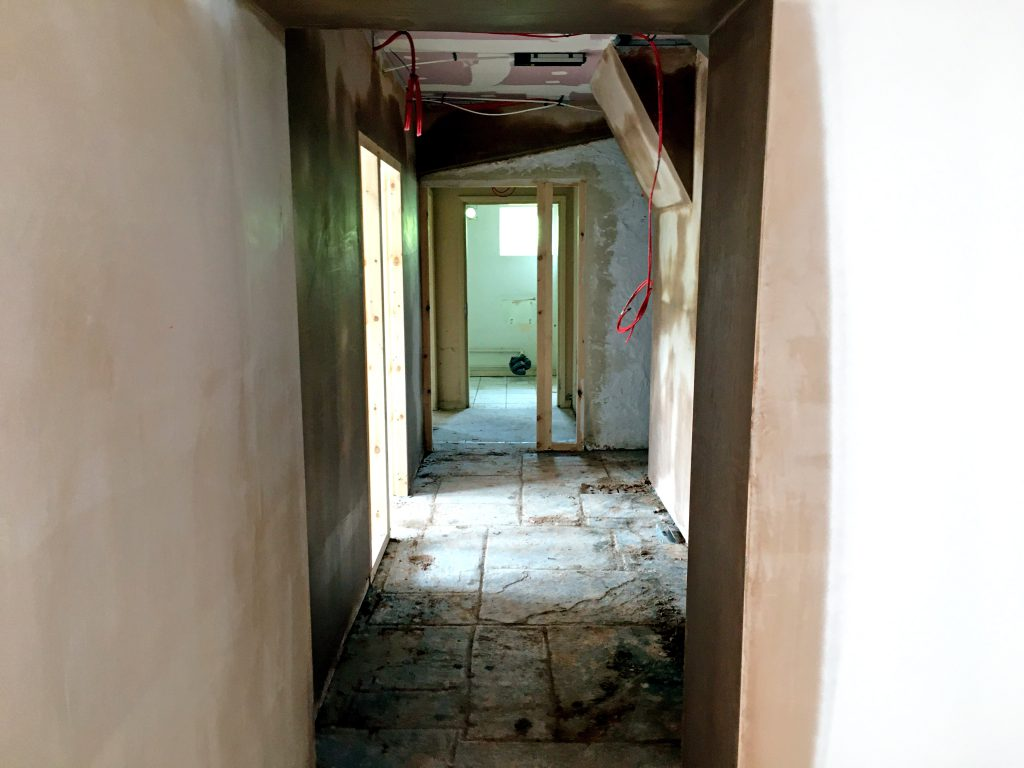 Castleford refurbishment progress9 project
