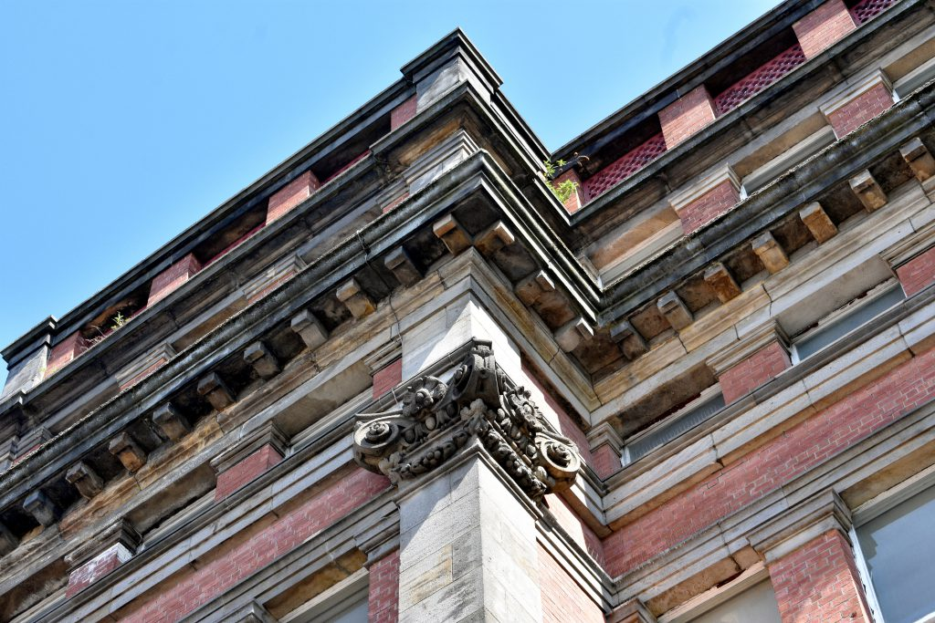 Victorian detail from building on great george street