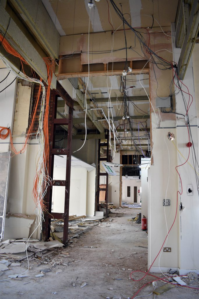 Great George Street strip out works interior1