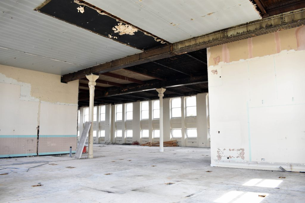 Great George Street strip out works interior3