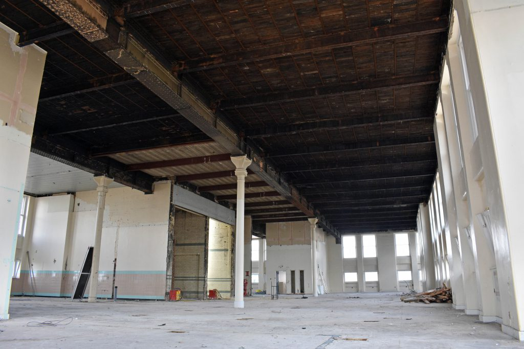 Great George Street strip out works interior4
