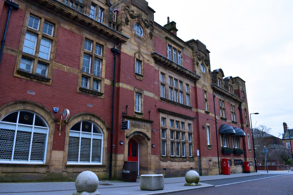 The Old Post Office building situated in the heart of Warrington